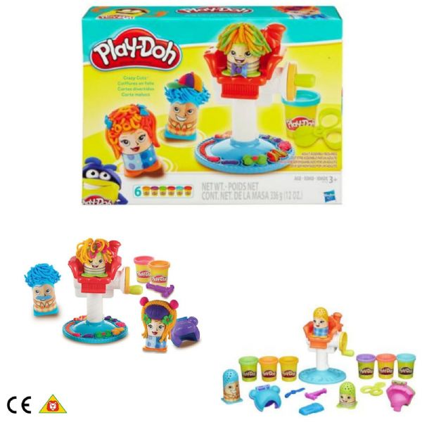 Play Doh Playdoh Crazy Cuts Playset Barbershop Age 3+ Years B1155 Hasbro